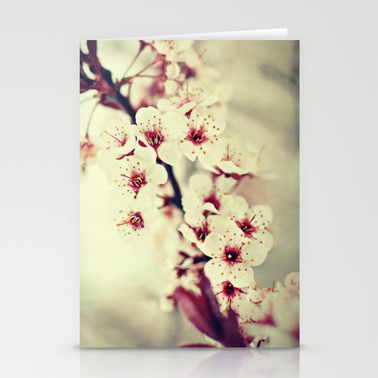 May Flowers Stationery Card