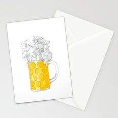 Ice Cold Bee(a)rs Stationery Cards