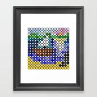 The Boat Framed Art Print