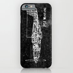 North American P51 Mustang (White) iPhone 6s Slim Case