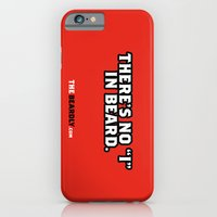 "iPhone & iPod Case featuring THERE'S NO ""I"" IN BEARD. by The Beardly"