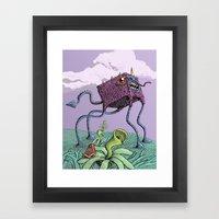 4D Framed Art Print