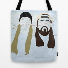 Jay and Silent Bob Strike Back Tote Bag