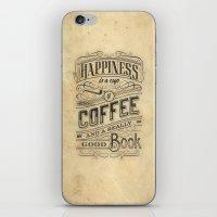 Coffee - Typography v2 iPhone & iPod Skin