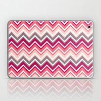 Pink Zig Zag Laptop & iPad Skin