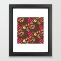 Chocolate Love Framed Art Print