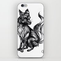 Foxy Two iPhone & iPod Skin
