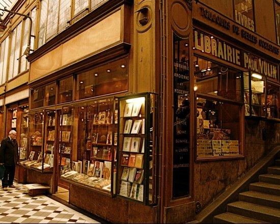 Paris Bookstore Art Print