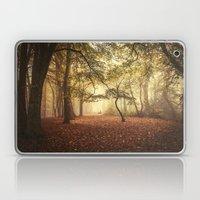 Foggy Woodland Laptop & iPad Skin
