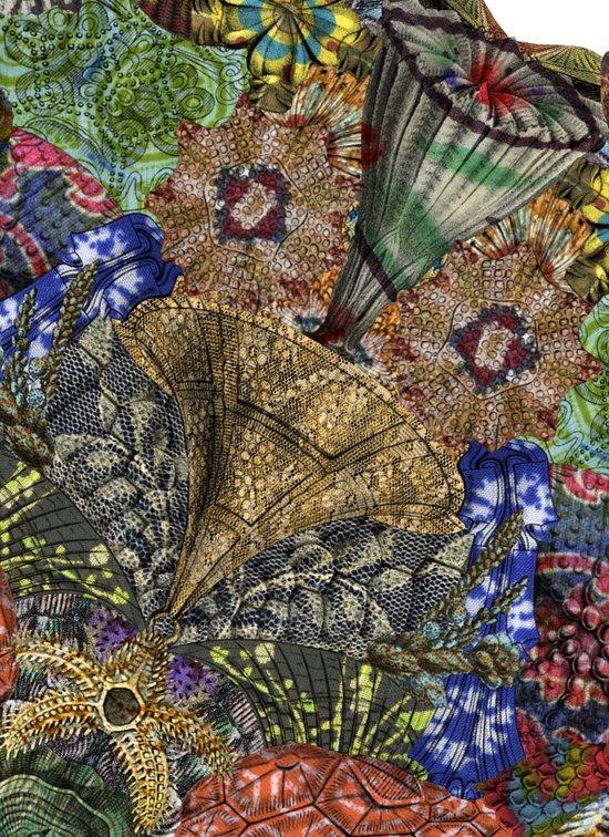 Psychedelic Botanical 4 Art Print