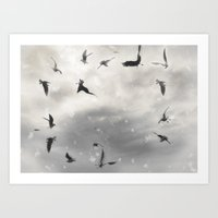 Fly Birds Fly Art Print