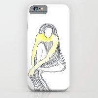Yellow Dress iPhone 6 Slim Case