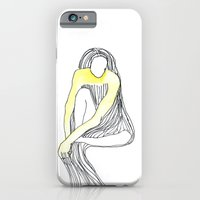 Yellow Dress iPhone 6 Slim Case