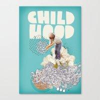 Childhood Canvas Print