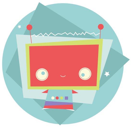 Robot Error!  Art Print