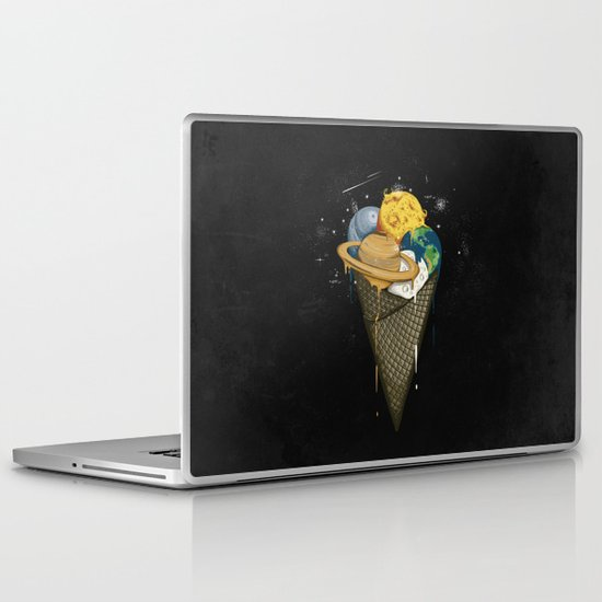 Galactic Ice Cream Laptop & iPad Skin