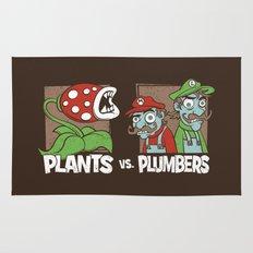 Plants Vs Plumbers  Rug