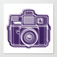 I Still Shoot Film Holga… Canvas Print