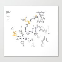 Story telling Canvas Print