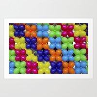 Balloon Wall Art Print