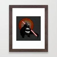 The Panda Menace Framed Art Print