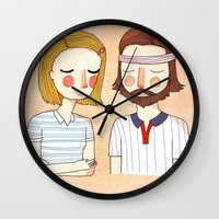 Secretly In Love Wall Clock
