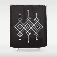 GOOD AIM Shower Curtain