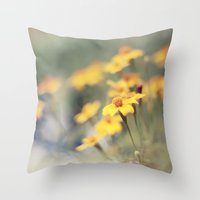 Orange zest Throw Pillow