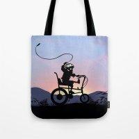 Ghost Rider Kid Tote Bag
