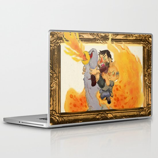 """Rize of the Fenix"" by Virginia McCarthy & Cap Blackard Laptop & iPad Skin"