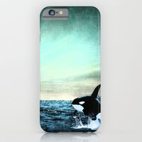 iPhone & iPod Case featuring whale by ihavenonameandadress