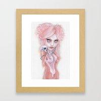 CharlotteWay Pink Framed Art Print