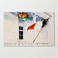 Fierté Acadienne Canvas Print