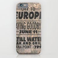 Off To Europe iPhone 6 Slim Case