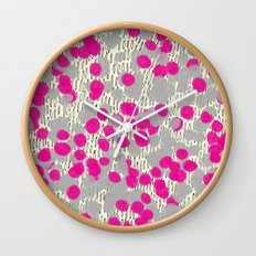 Blobs 2 Wall Clock