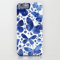 Blue Butterflies iPhone 6 Slim Case