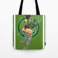 Star Wars Fett pinup Tote Bag