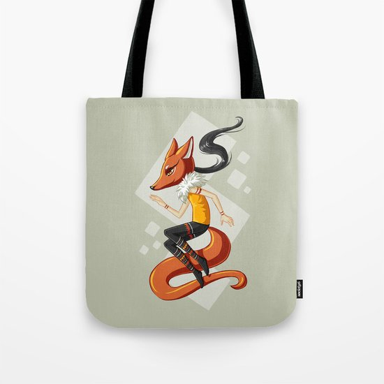 Kitsune 2 Tote Bag