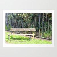 Sefton Park Part 3 Art Print