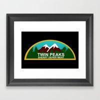 Twin Peaks: Twin Peaks S… Framed Art Print