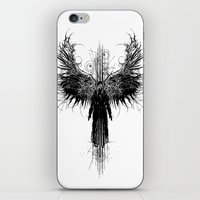 Particles and Angels iPhone & iPod Skin