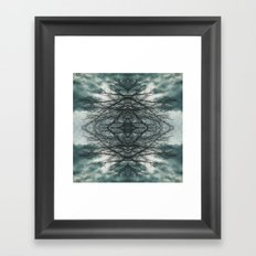 Eye of the Storm Framed Art Print