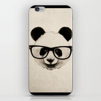 Panda Head Too iPhone & iPod Skin
