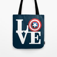 Captain's Love Tote Bag