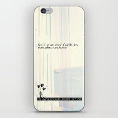 Sweet Nothing iPhone & iPod Skin