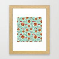 Oh My, Cherry Pie! Framed Art Print