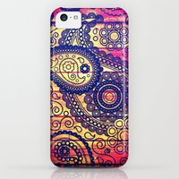iPhone 5c Cases featuring Vintage Texture - for iphone by Simone Morana Cyla