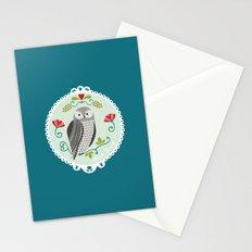 Piccola Damigella Gufo Stationery Cards