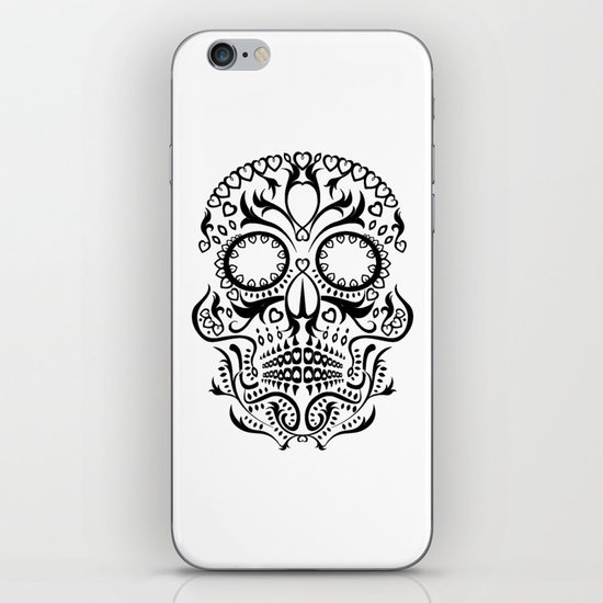Day of the Dead Skull No.26 iPhone & iPod Skin