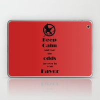 Keep Calm And May The Odds Laptop & iPad Skin
